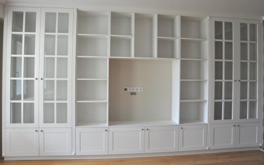 Giorgio mariani meble na wymiar salon for Biblioteczka w salonie